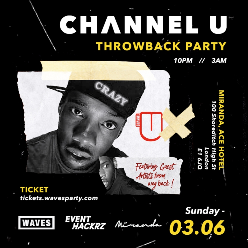 Channel U // Throwback Party