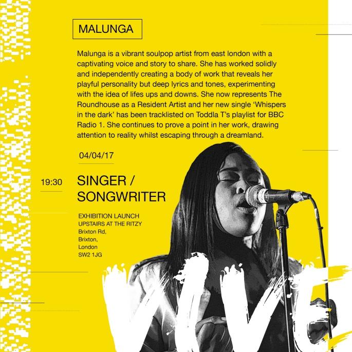 Vive Artist Post / April 2017 / Malunga