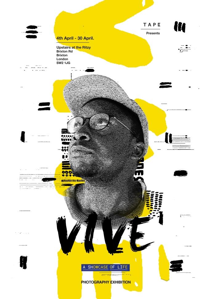 Vive Exhibition Poster / April 2017