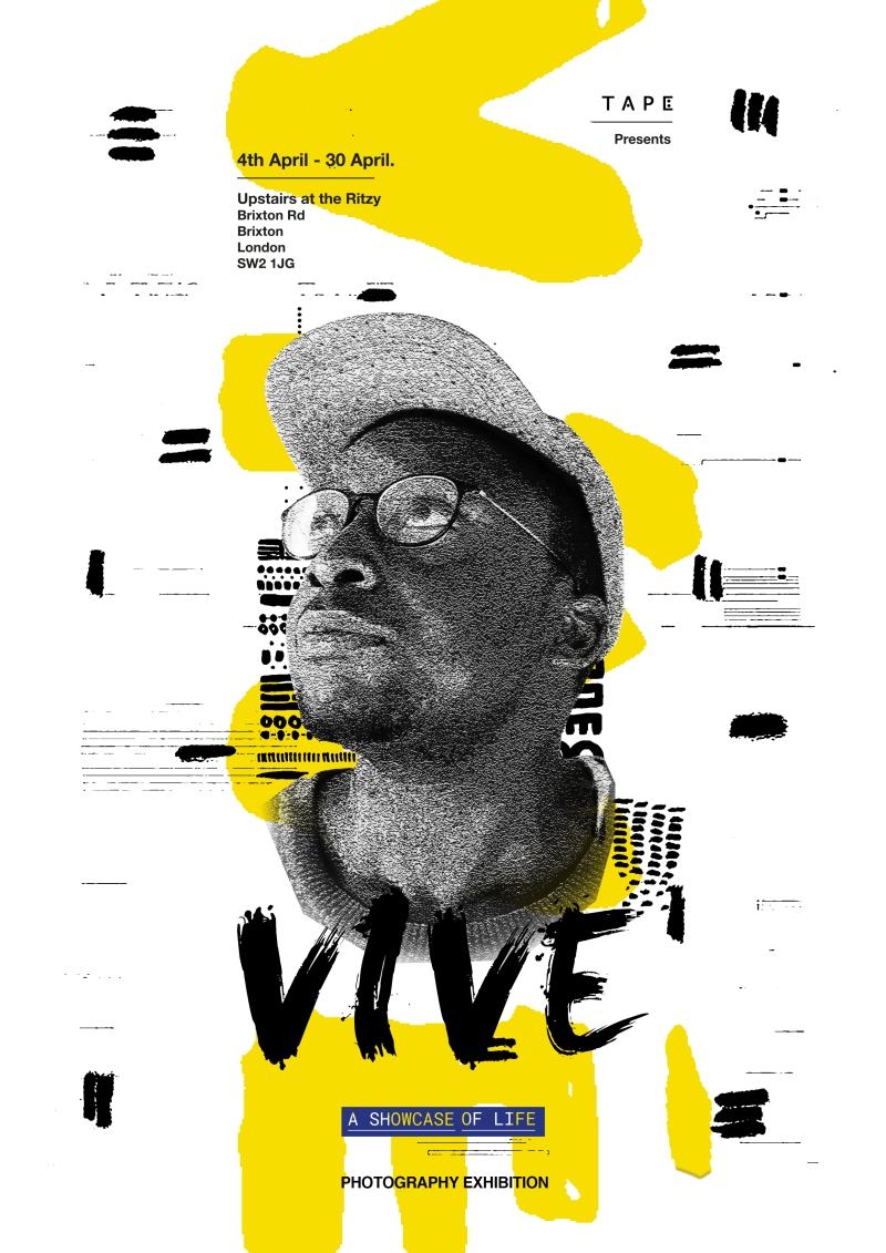 Vive Exhibition Poster / April 2017